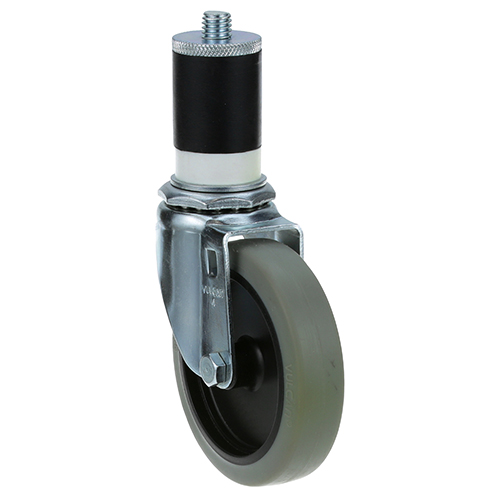 26-2388 - SWIVEL STEM CASTER 4 W  1-5/8 OD TUBING