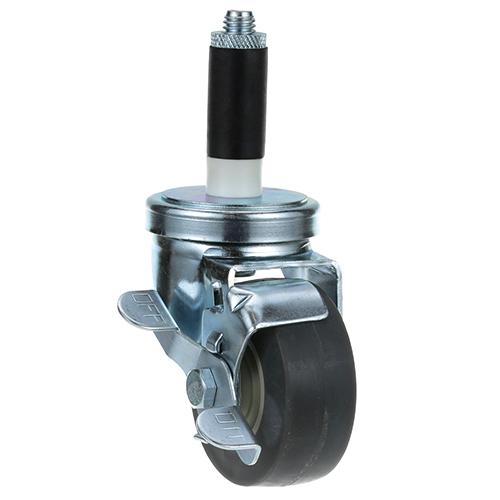 26-2397 - SWIVEL STM CASTR W/BRK 3 W  1 OD TUBING