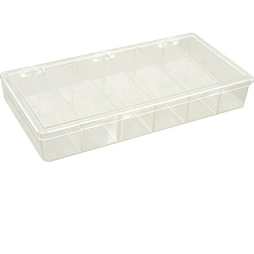 280-1032 - BOX,STORAGE, 6 COMPARTMENT