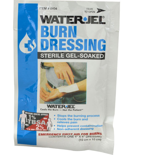 "280-1538 - BURN DRESSING,WATER GEL, 4""SQ"
