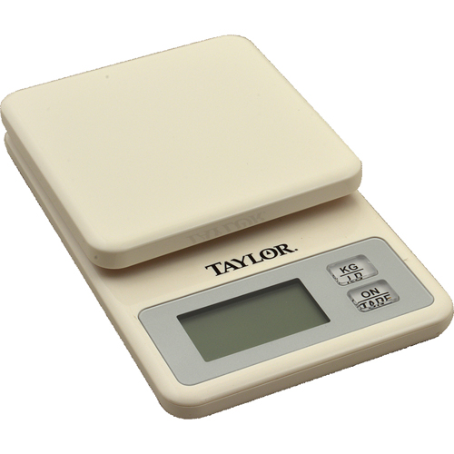 TAYLOR PRECISION - 3817 - SCALE,DIGITAL(11LBS,WHIT,PLST