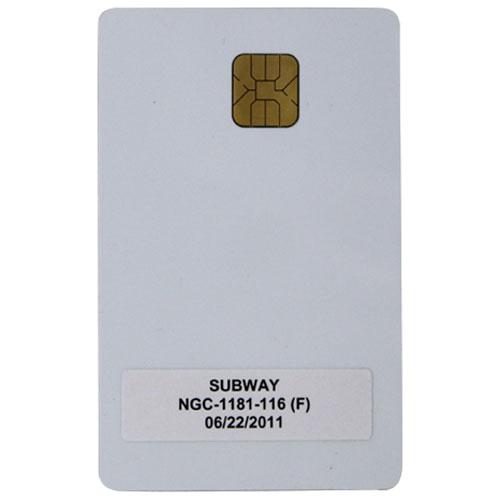 TURBOCHEF - NGC-1181-116 - SMART CARD - SUBWAY