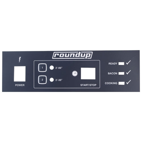 ROUNDUP - 1001100 - LABEL - FRONT PANEL