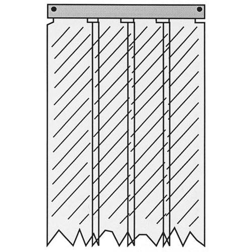 32-1233 - KASON - 401SA6063884  STRIP CURTAIN