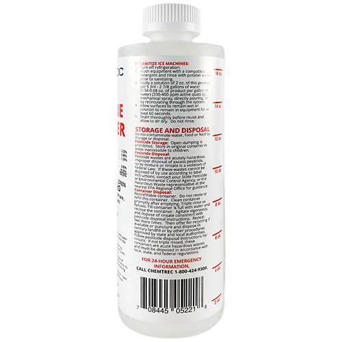 MANITOWOC - 000005164 - SANITIZER, ICE MACHINE - 16OZ