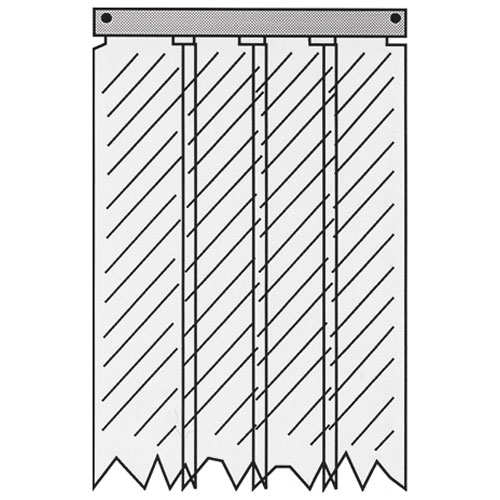 32-1858 - KASON - 401SA8084490  STRIP CURTAIN-EASIMNT