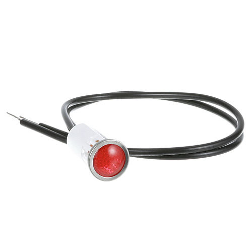"38-1078 - SIGNAL LIGHT 1/2"" RED 125V"