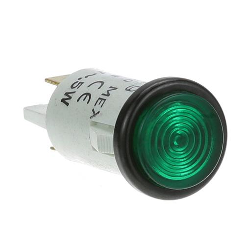 """38-1120 - SIGNAL LIGHT 1/2"""" GREEN 250V"""
