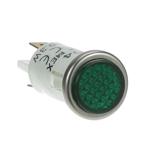 "38-1211 - SIGNAL LIGHT 1/2"" GREEN 125V"