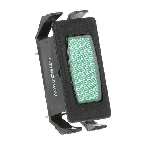 38-1468 - LIGHT, SIGNAL - GREEN RECTANGL