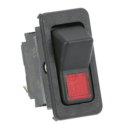 FOOD WARMING EQUIPMENT - SWH RCK L E1 - LIGHTED ROCKER SWITCH