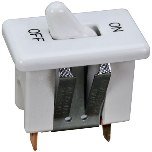 42-1655 - SWITCH, ON/OFF WHITE TOGGLE