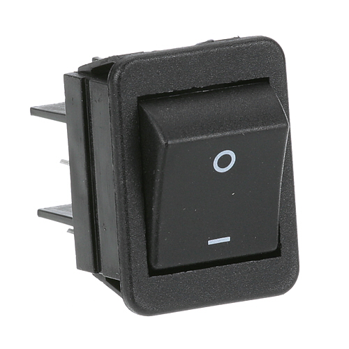 42-1771 - SWITCH, ON/OFF BLACK ROCKER