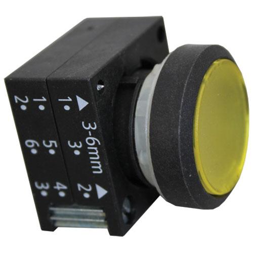 MEIKO - 9604404 - PUSHBUTTON - YELLOW