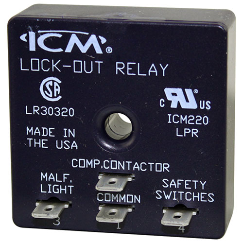 ICM220 Lockout protection relay to help eliminate nuisance lockouts