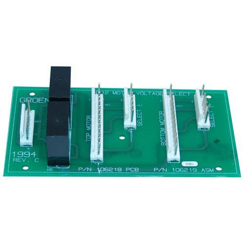 GROEN - 106219 - CONTROL BOARD