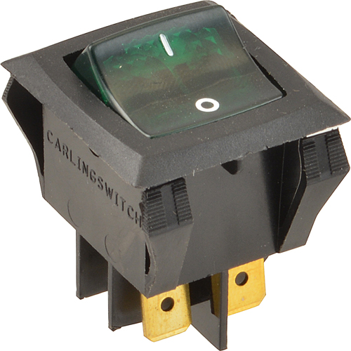 BARBECUE KING - S0356 - SWITCH,ROCKER GREEN