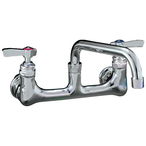 "56-1544 - WALL MOUNT FAUCET  - WITH  6"" SPOUT"