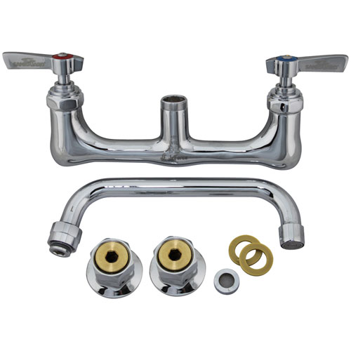 "56-1551 - WALL MOUNT FAUCET  - WITH  8"" SPOUT"