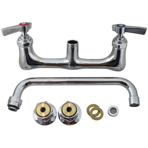 """56-1555 - WALL MOUNT FAUCET  - WITH  10"""" SPOUT"""