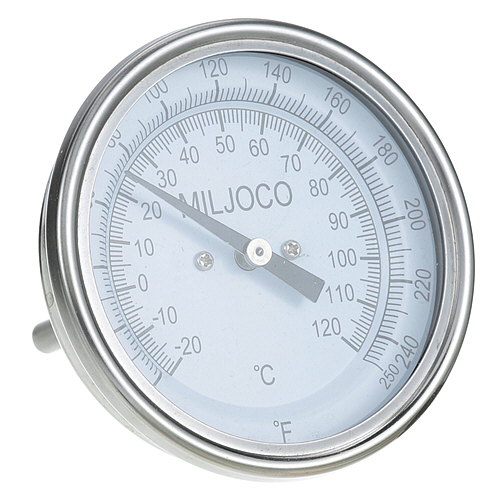 62-1014 - THERMOMETER 3, 0-250F,  1/2'' MPT