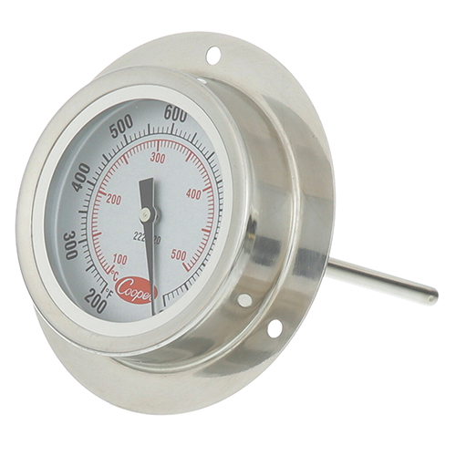 "62-1032 - THERMOMETER 2"", 200-1000F, SURF MT"