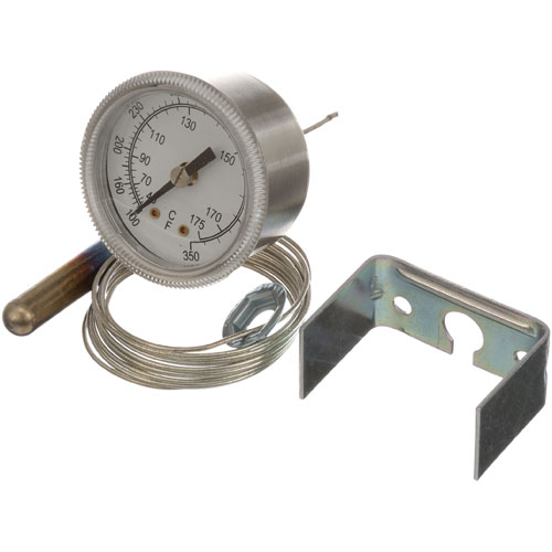 "62-1047 - THERMOMETER 2.25"", 100-350F, U-CLAMP"