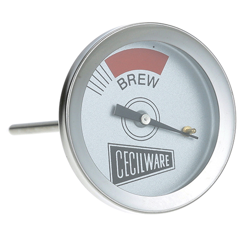 """GRINDMASTER - L007A - THERMOMETER 2"""", BREW,  3/8"""