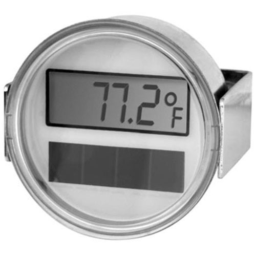 62-1112 - THERMOMETER - SOLAR, DIGITAL, U-CLAMP