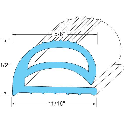 74-1190 - GASKET COMPRESSION 10FT