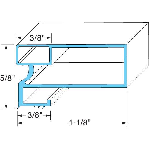 """ARCTIC AIR - 216522315 - DOOR GASKET 31 1/4"""" X 61 5/8"""""""
