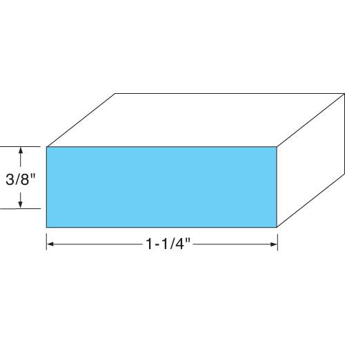 74-1315 - DOOR GASKET  SPONGE RUBBER - 10FT
