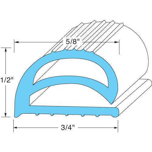 GLASTENDER - 11000069 - DOOR GASKET