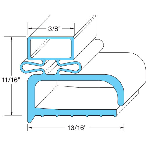 RANDELL - IN GSK103 - DOOR GASKET