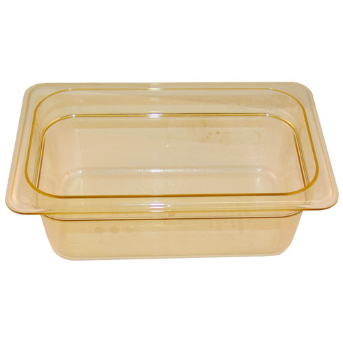 76-407 - 1/4 Size Food Pan - Amber High Heat