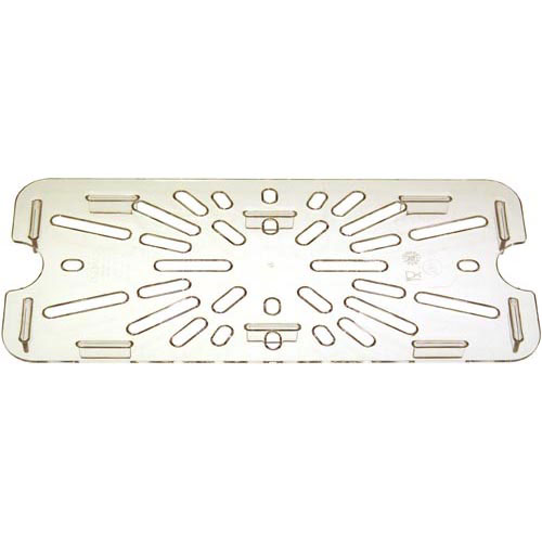 78-439 - DRAIN TRAY 1/3 SIZE-135 CLEAR