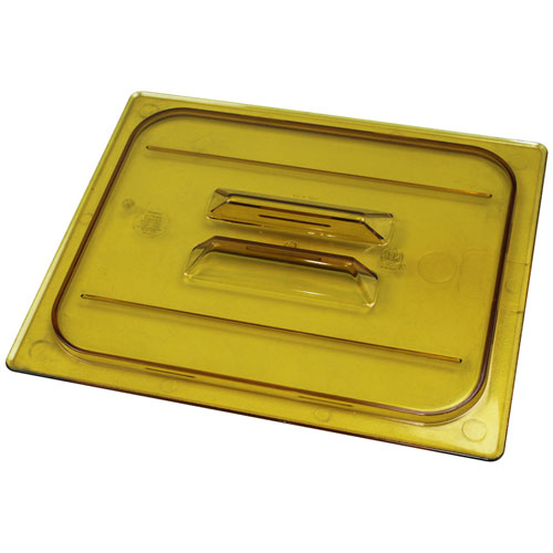 78-920 - HOT PAN LID HALF SZ-150 AMBER