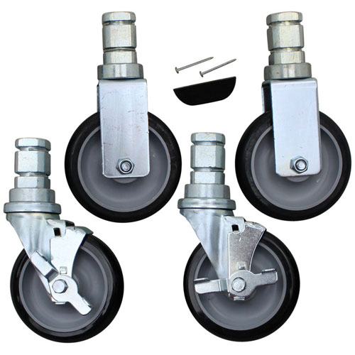 ALTO SHAAM - 5004862 - UNIBODY 5IN STEM CASTERS