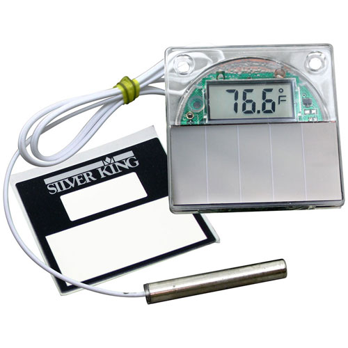 SILVER KING - 42615 - SOLAR THERMOMETER SEE TEXT
