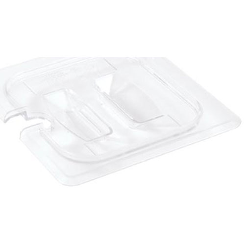 801-0019 - 1/6TH SIZE LID CLEAR W/NOTCH