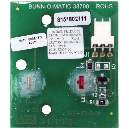 BUNN - 38708.1000 - CONTROL BOARD KIT - POSITION SENSOR