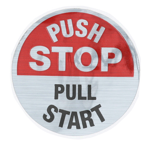 801-0930 - LABEL - START/STOP