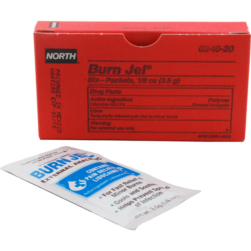 801-1151 - BURN GEL TREATMENT (BX/6)