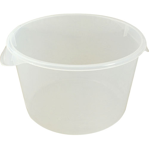 801-1194 - CONTAINER,12QT ROUND (CLEAR) LEMONADE