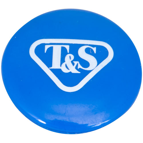 T&S BRASS - 018506-19NS - BLUE BUTTON