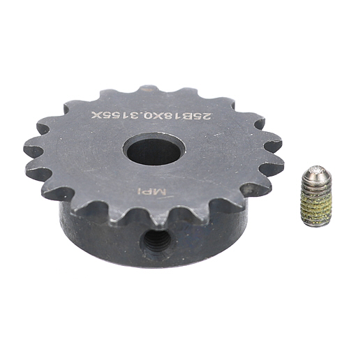 "ROUNDUP - 7001652 - SPROCKET 25B18 5/16"" BORE KIT"