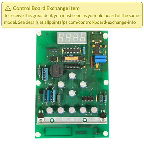 801-3132 - REFURB - CONTROL BOARD, CHURCH'S/POPEYES