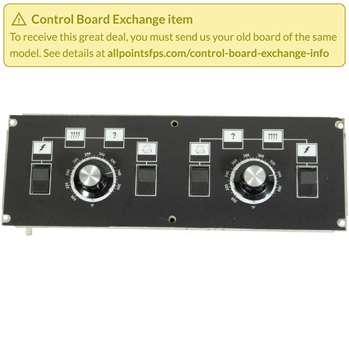 801-3150 - REFURB - CONTROL BOARD, S/S DUAL VAT