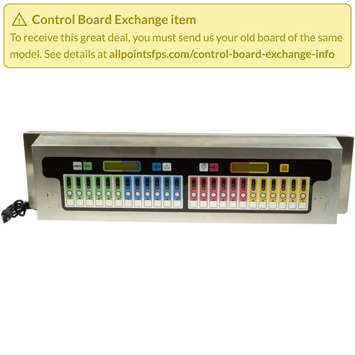 801-3182 - REFURB - CONTROL BOARD PANEL MOUNT S/S