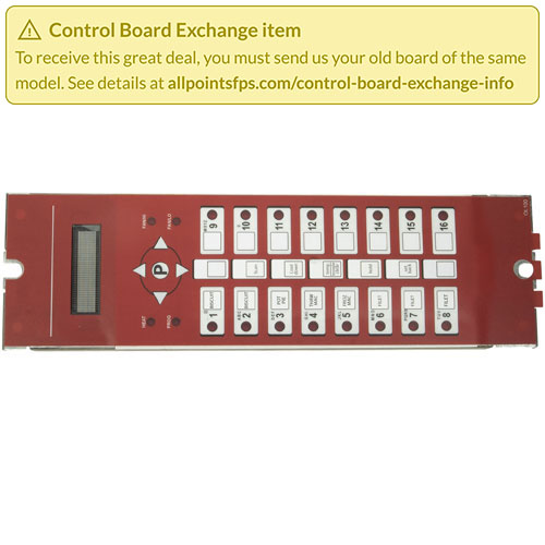 801-3374 - REFURB - CONTROL BOARD PANEL MOUNT